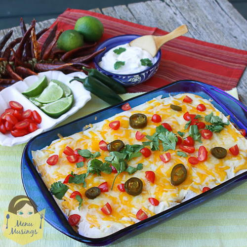 Easy Mexican Chicken Lasagna