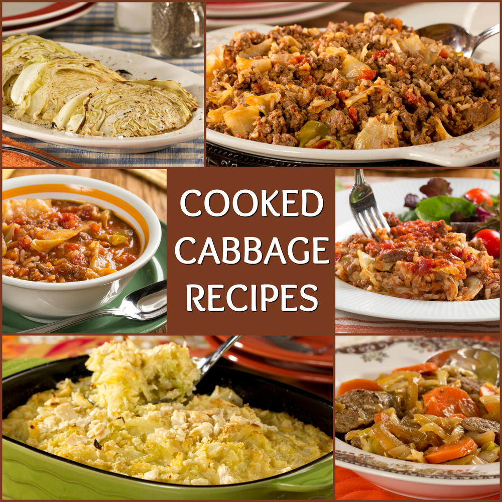 10 Favorite Cooked Cabbage Recipes