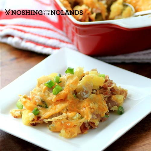 Bacon Cheese Potato Casserole