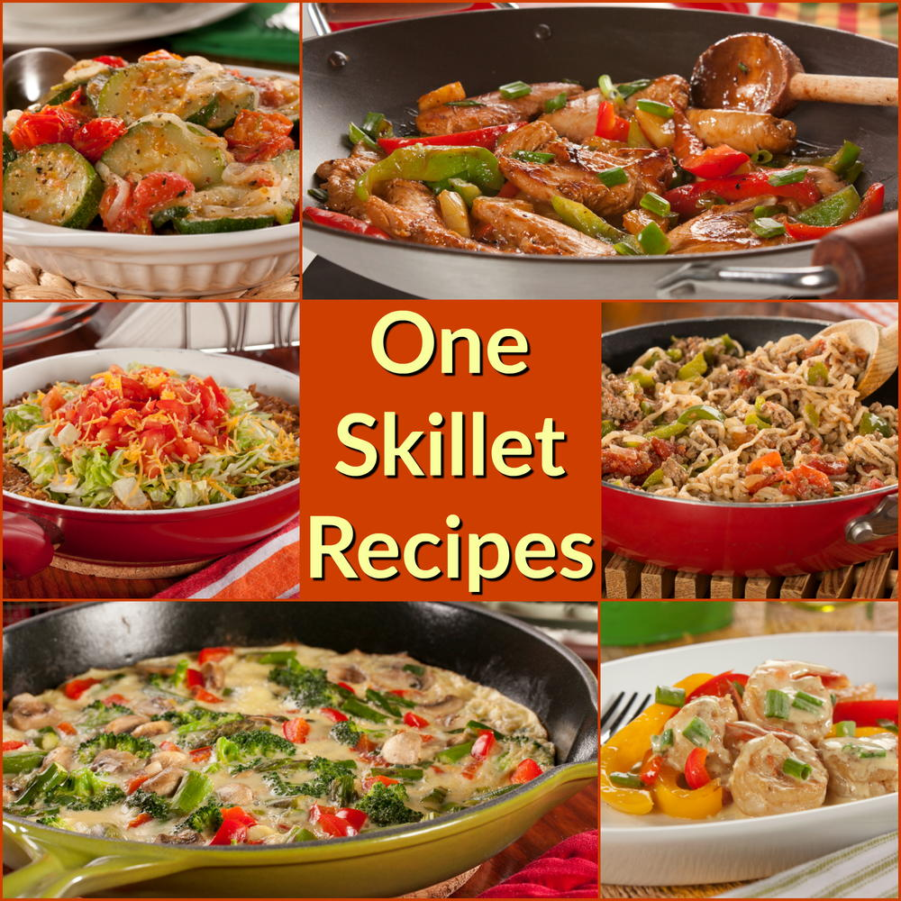 12 Easy One Skillet Recipe: Healthy Skillet Recipes The