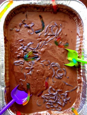 Edible Mud Puddle Activity