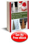 DIY Christmas Decorations: 12 Tabletop Christmas Trees eBook