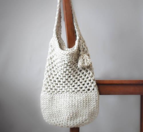 Manhattan Crochet Tote Allfreecrochetcom