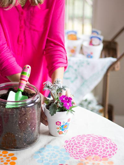 Spring Flower Potting Party