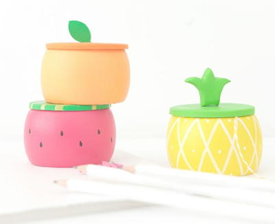 Fruity DIY Wooden Trinket Boxes