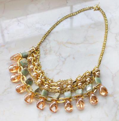 Luxurious DIY Statement Necklace