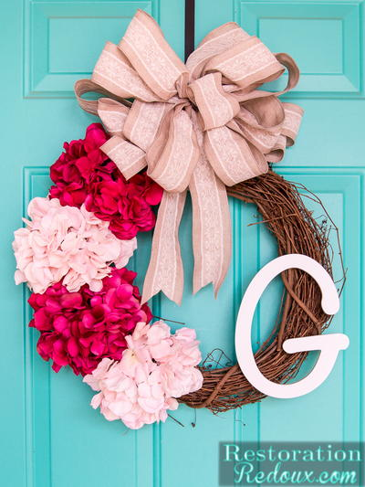 10 Minute Spring DIY Wreath