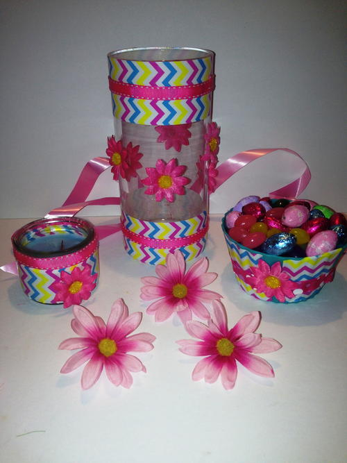 DIY Duct Tape Craft for Easter