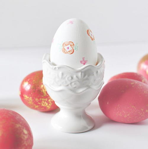 DIY Easter Egg Decorating Stamps