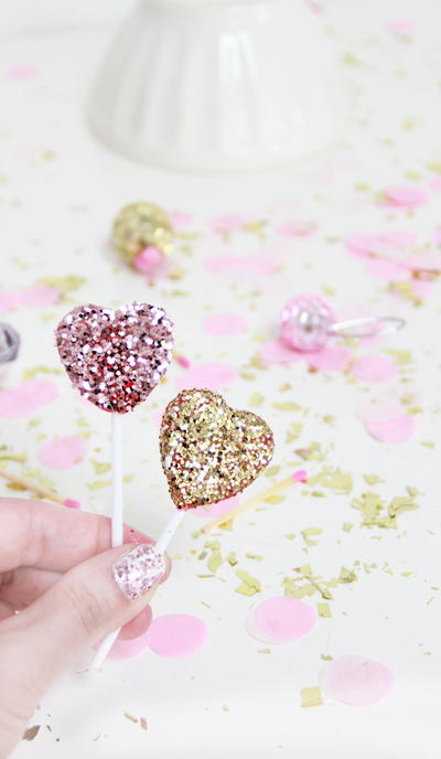 GlitteryCake Toppers