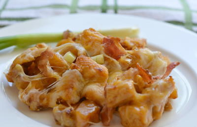 Extra Cheesy, Buffalo Chicken, and Potato Casserole_1