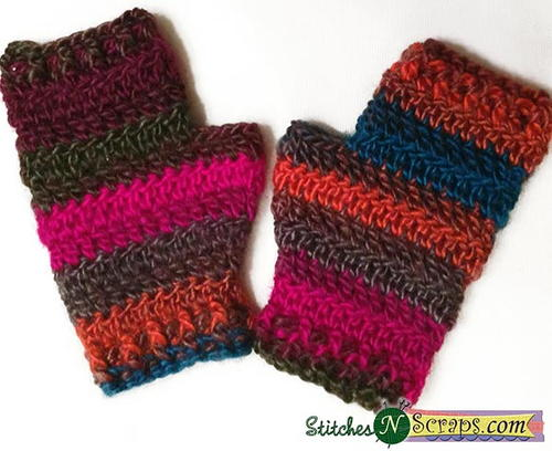 Pacific Sunset Mitts