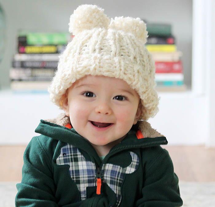 Tiny Angel Hat AllFreeKnitting.com