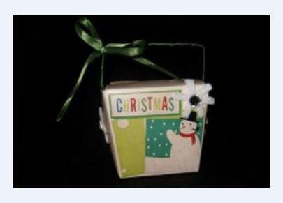 Christmas Take Out Gift Box