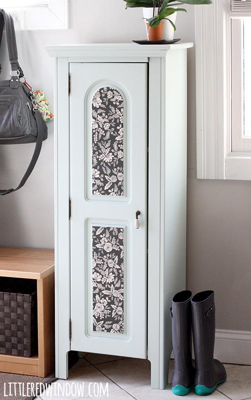 Large Foyer Cabinet : Elegant refurbished entryway cabinet favecrafts