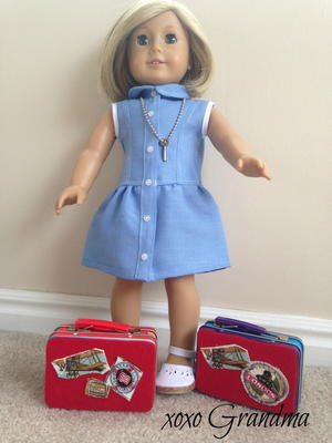 Make a Doll Size Travel Case