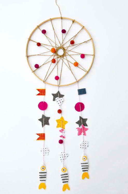 Summer Days Diy Dream Catcher Allfreekidscrafts Com