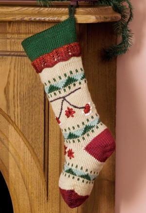 20 Old Fashioned Knit Stocking Patterns