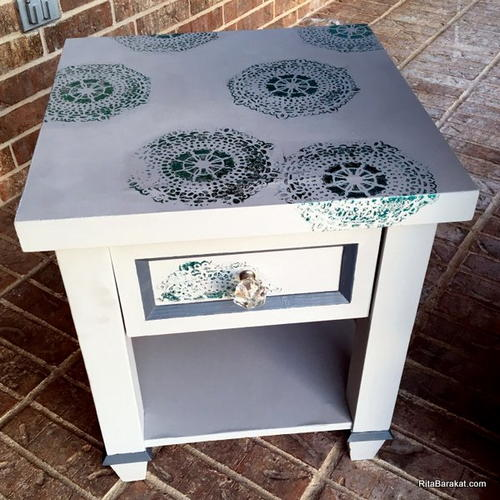 Brilliant Nightstand Makeover