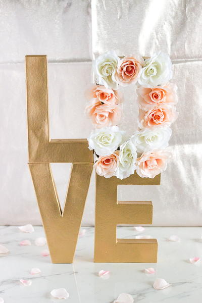 Love in Bloom Floral Centerpiece