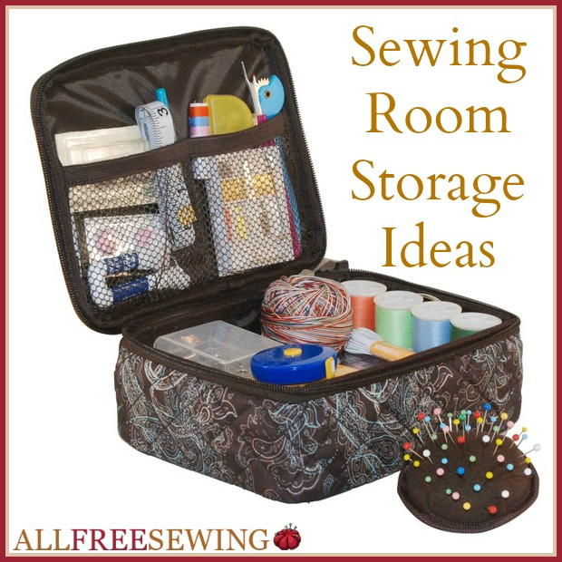 Sewing Room Storage 11 Craft Storage Ideas