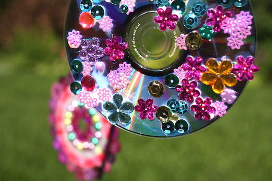 Recycled Cd Wind Spinner Allfreekidscrafts Com