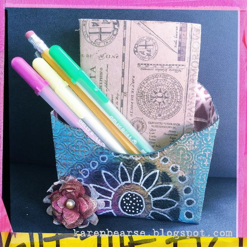 Mini Art Journal Holder