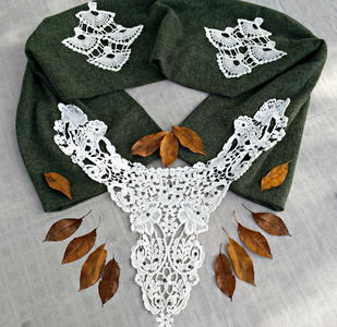 Lovely Lace Statement Scarf