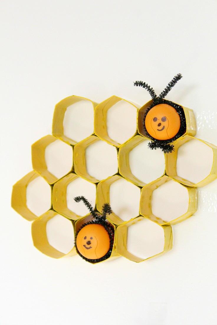 Honeycomb Paper Tube Craft Allfreekidscrafts Com