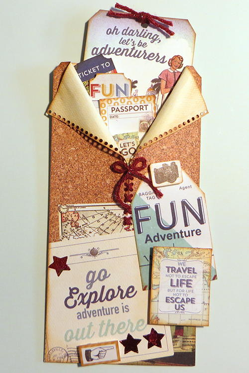Travel Pocket Gift Card Holder