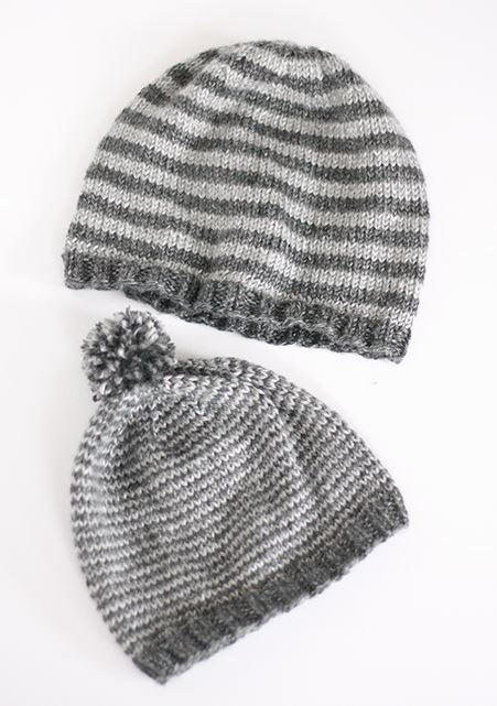 Father and son knit caps for Fave crafts knitting patterns
