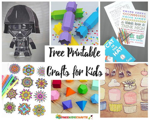 graphic relating to Printable Crafts for Kids identify 31 Cost-free Printables for Young children: Summer season Crafts for Small children