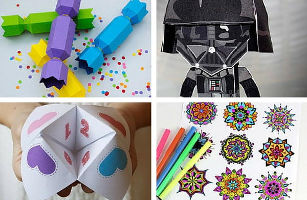Our Collection of Free Printable Crafts for Kids