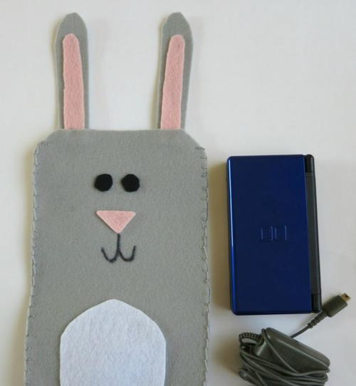 Bunny Rabbit Felt Case