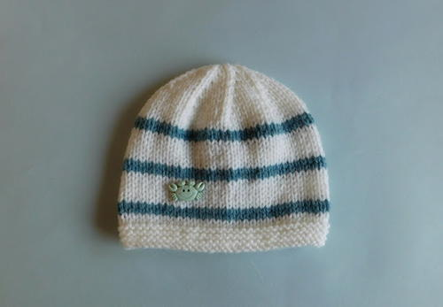 Reno Striped Baby Hat