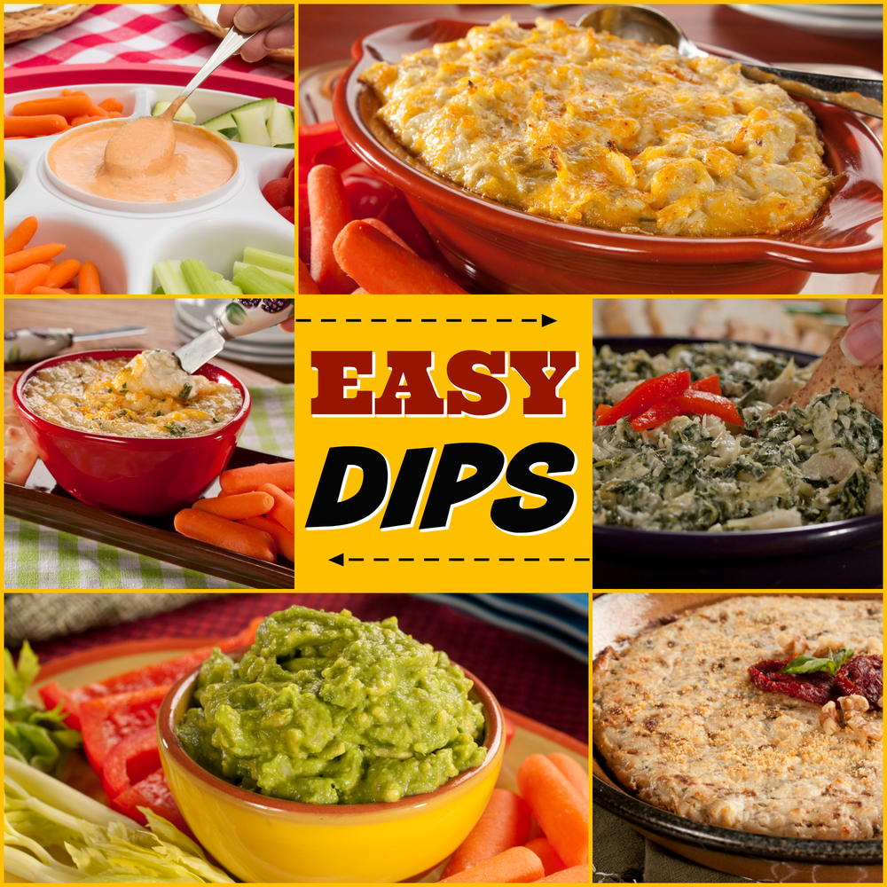 Easy Appetizers And Dips: 14 Easy Dip Recipes For Diabetics