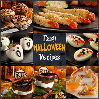our collection includes some harrowing halloween appetizers like our bloody chicken fingers and - Halloween Savory Recipes