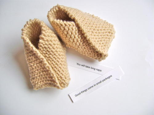 10b70f7db152 Fortune Cookie Baby Booties