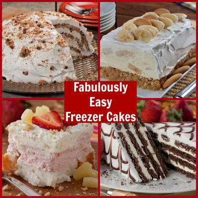 The Weather Is Warm And Youre Looking For An Easy Dessert Recipe To Cool Off With Well Weve Got 5 Freezer Cakes Thatll Knock Your Socks