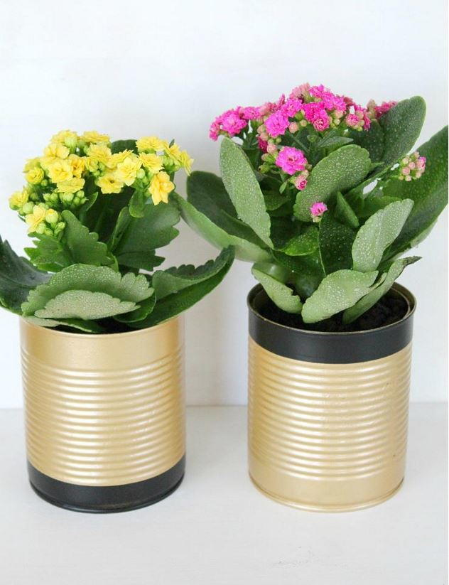 Yes you can 19 easy tin can crafts for Flower pot making with waste material