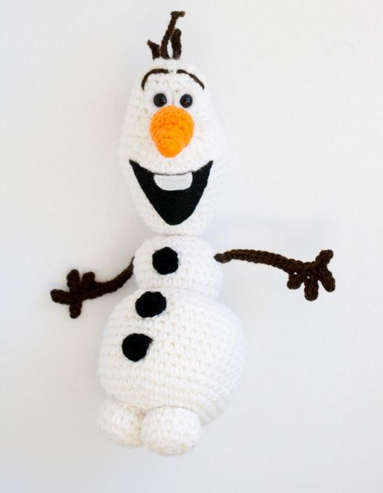 Olaf from Frozen Crochet Pattern