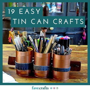 beer can craft ideas yes you can 19 easy tin can crafts favecrafts 3433