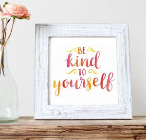 """Be Kind"" Printable Art"