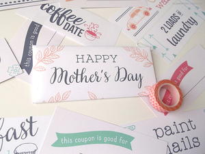 Mother's Day Printable Coupons