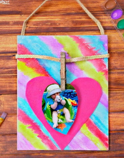 I-Heart-You DIY Photo Frame