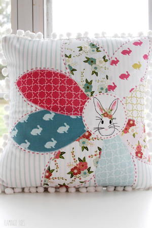 Spring Time DIY Pillow