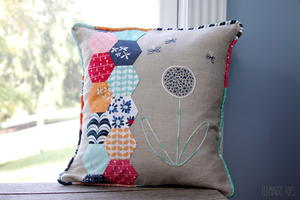 Hexagon Fat Quarter DIY Pillow