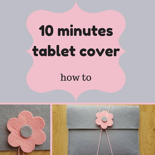 10 Minutes Tablet Cover