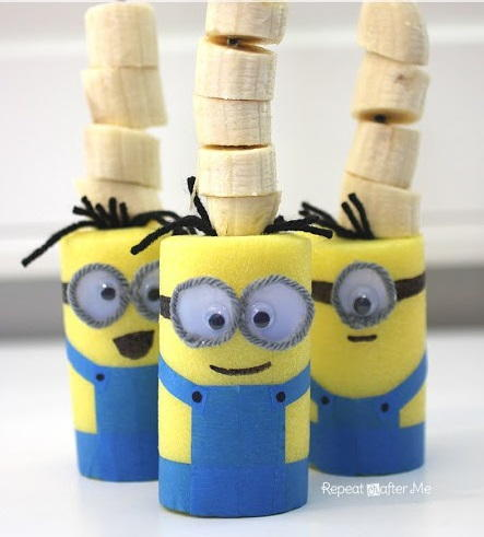 Minion Party Snack Skewers