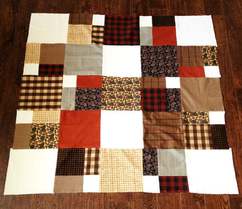 Your Grandfathers Lap Quilt Pattern